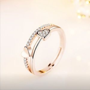 Jewelry - NEW | Crystal Heart Ring